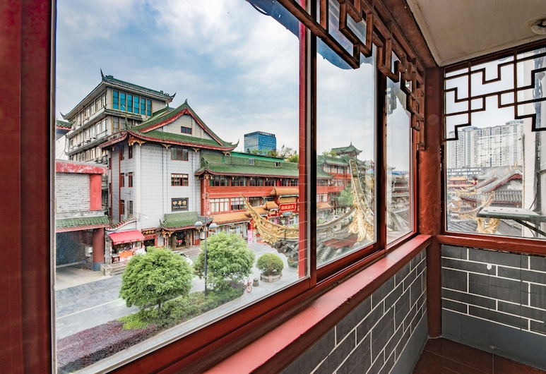 Chengdu Wenjun courtyard Hotel, Chengdu, Deluxe Family Suite, Terrace/Patio