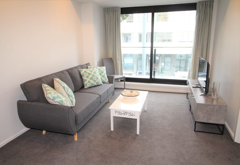 Vibrant Brand New 2 Bedroom Apt You Must Not Miss (Connect 201), Auckland, Apartment, 2 Bedrooms, Living Area