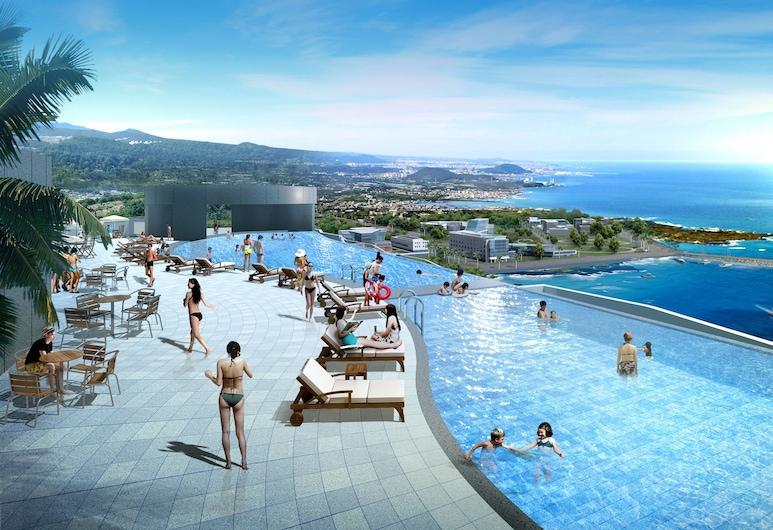 港口景觀酷普市飯店, 西歸浦, 游泳池