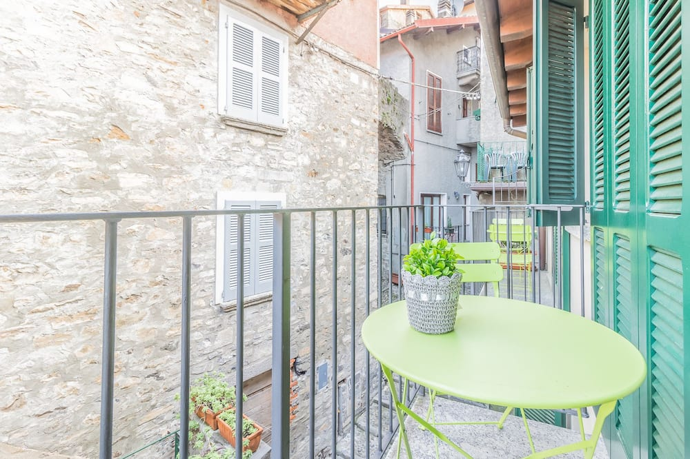 Dzīvokļnumurs, viena guļamistaba - Balkons