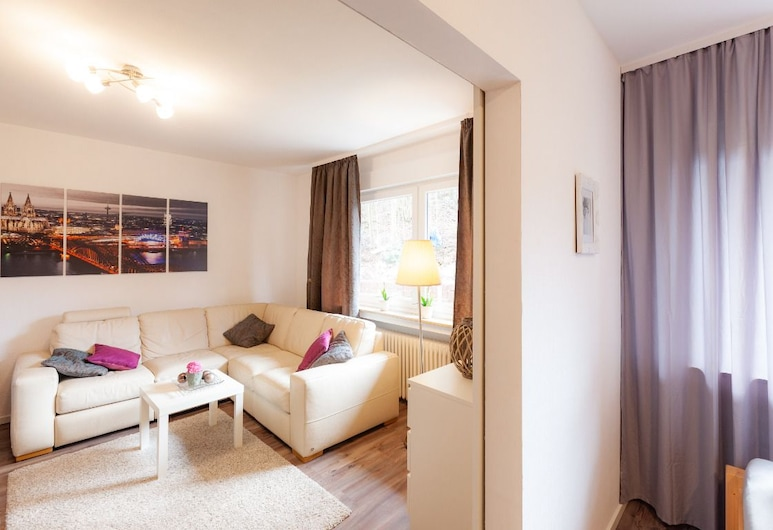 Ferienwohnungen A&S im Mittelrheintal, Remagen, Deluxe-lejlighed - 2 soveværelser, Værelse
