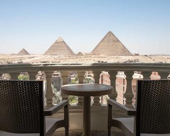 Bild vom Welcome Pyramids in Giza