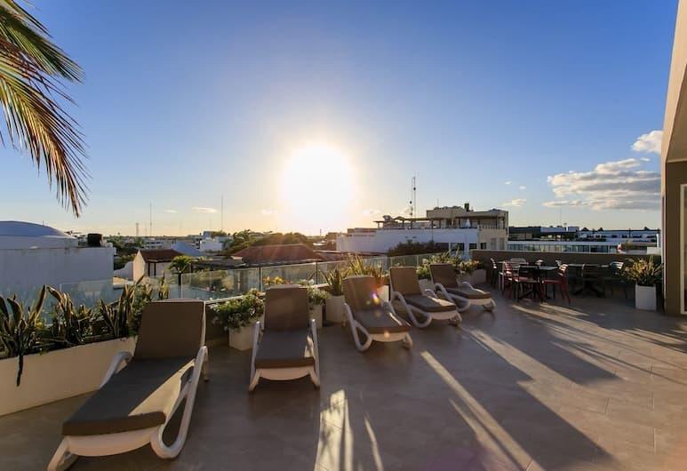 金塔阿維尼達全新公寓酒店, 阿範特拉斯港, 日光浴平台