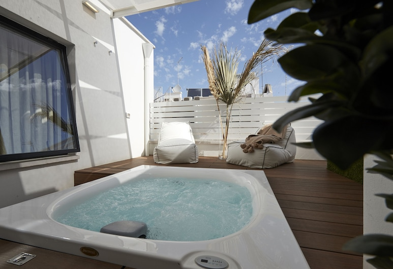 Musae Relais & Spa, Polignano a Mare, Suite, Stadtblick, Zimmer