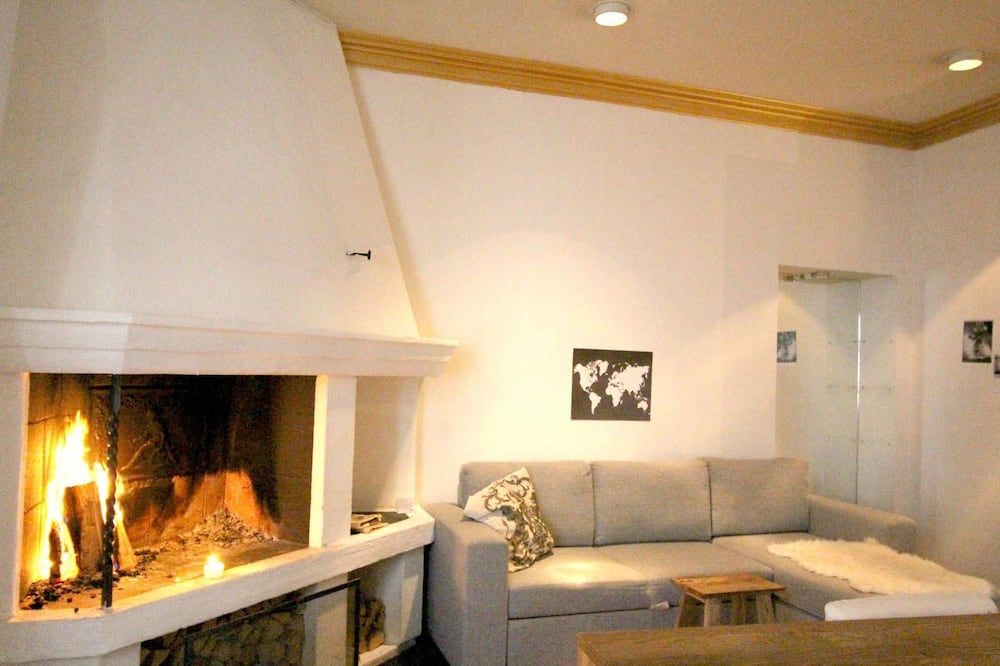 Apartament typu Royal, Łóżko queen - Salon
