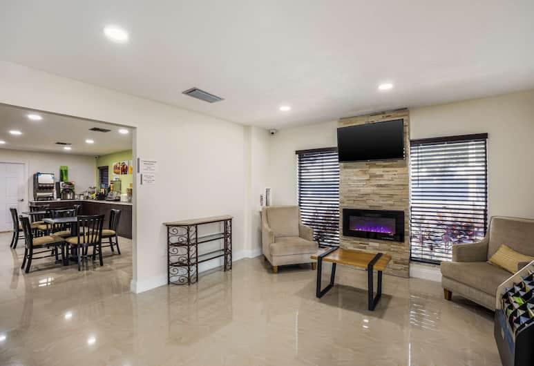 Quality Inn & Suites Downtown, Orlando, Lobi