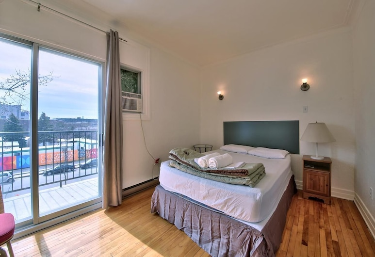 Hotel Mini, Montreal, City szoba kétszemélyes ággyal, Vendégszoba