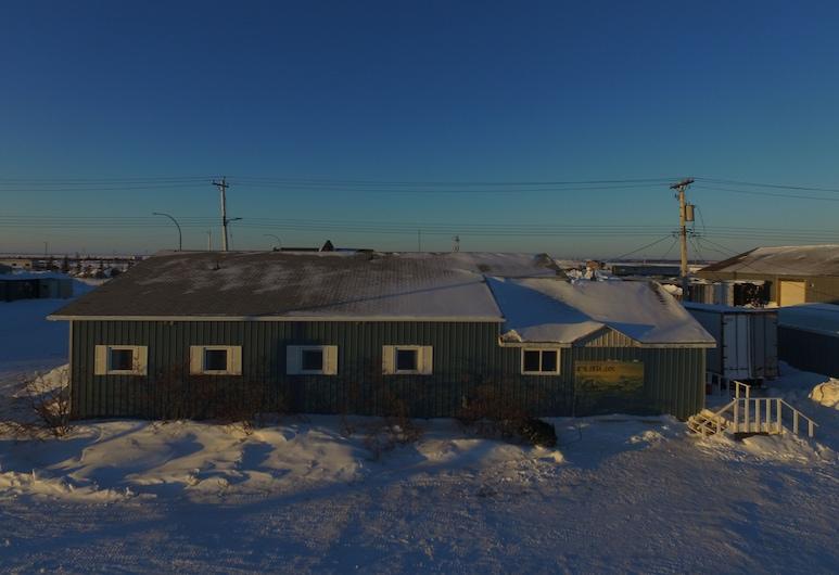 冰山旅館, 邱吉爾