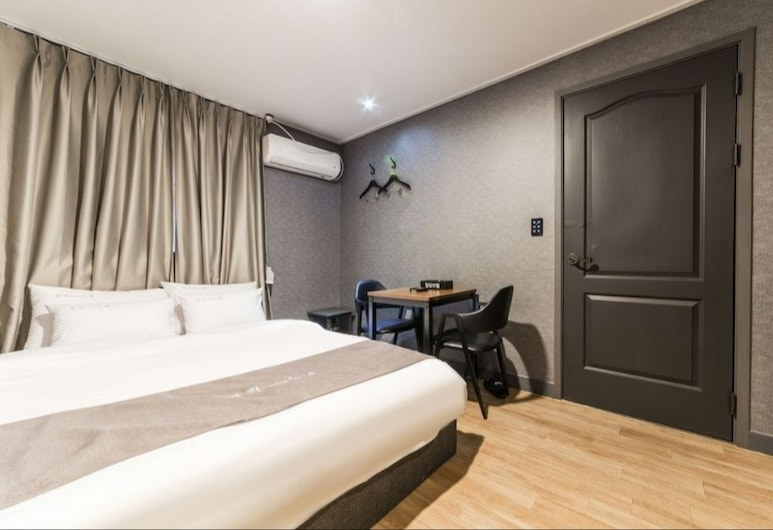 Healing Motel, Incheon, Standard Double Room, Guest Room