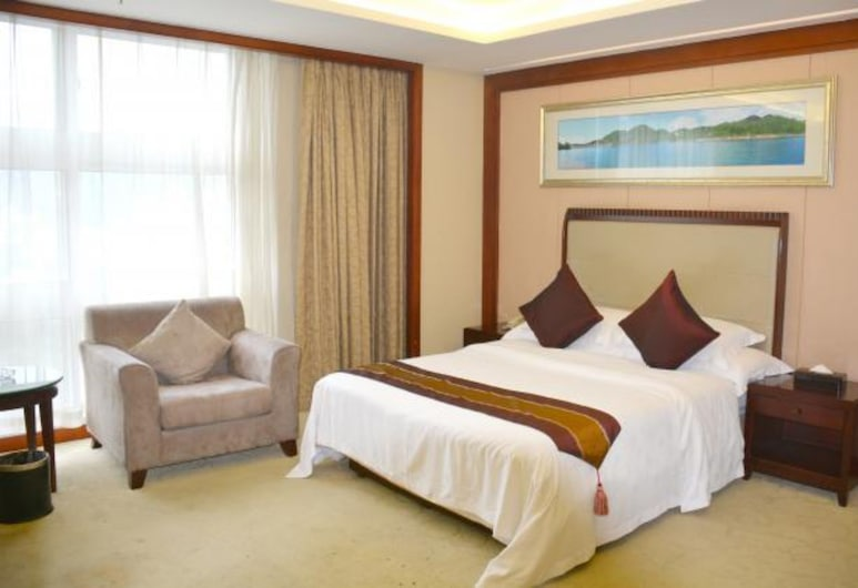 Jing Ming Hotel Shenzhen, Shenzhen, Deluxe Double Room, Guest Room