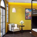 Gemeinsamer Schlafsaal, Gemischter Schlafsaal (Bed in 8-Bed) - Wohnbereich