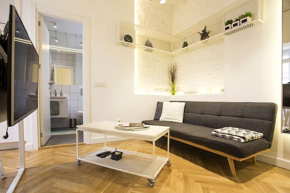 Apartment, Terrasse - Wohnbereich
