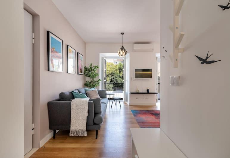 Portuguese Modern Style Flat , Lisbona, Appartamento, 2 camere da letto, Area soggiorno