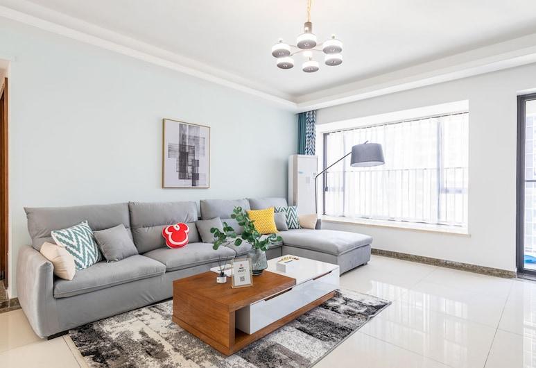 Locals Boutique Apartment Qianshan No.5, Zhuhai , Apartmán typu Comfort, 4 spálne, Obývačka