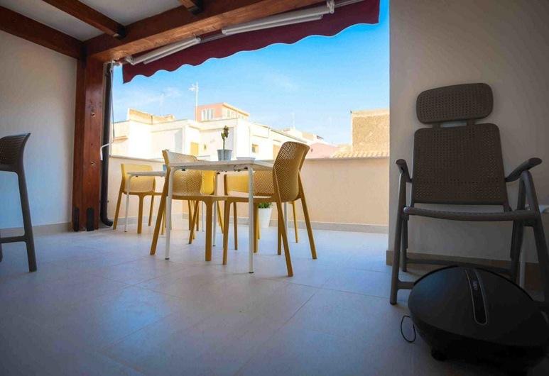 Il Civico Del Mare, Castellammare del Golfo, Appartement, 1 grand lit, terrasse, Terrasse/Patio