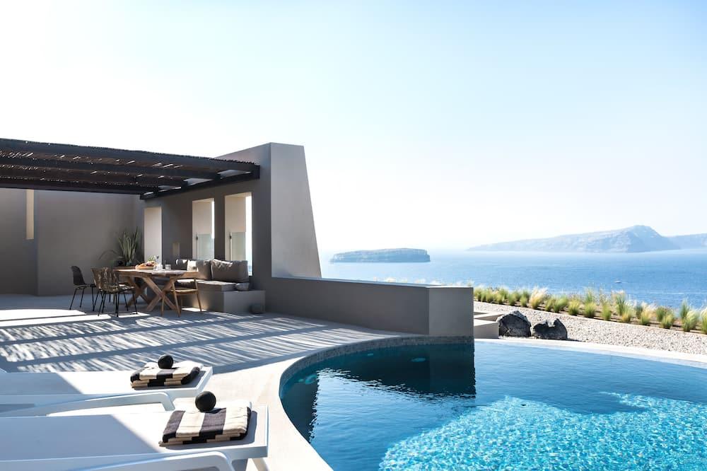 Luksus-villa - privat pool (Heated) - Værelse
