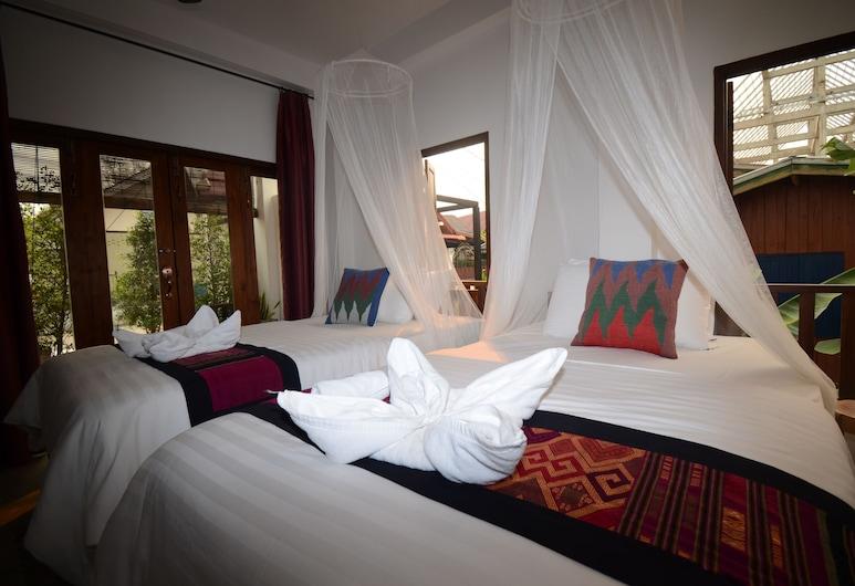 月光香帕河濱酒店, 龍坡邦, 標準雙床房, 客房