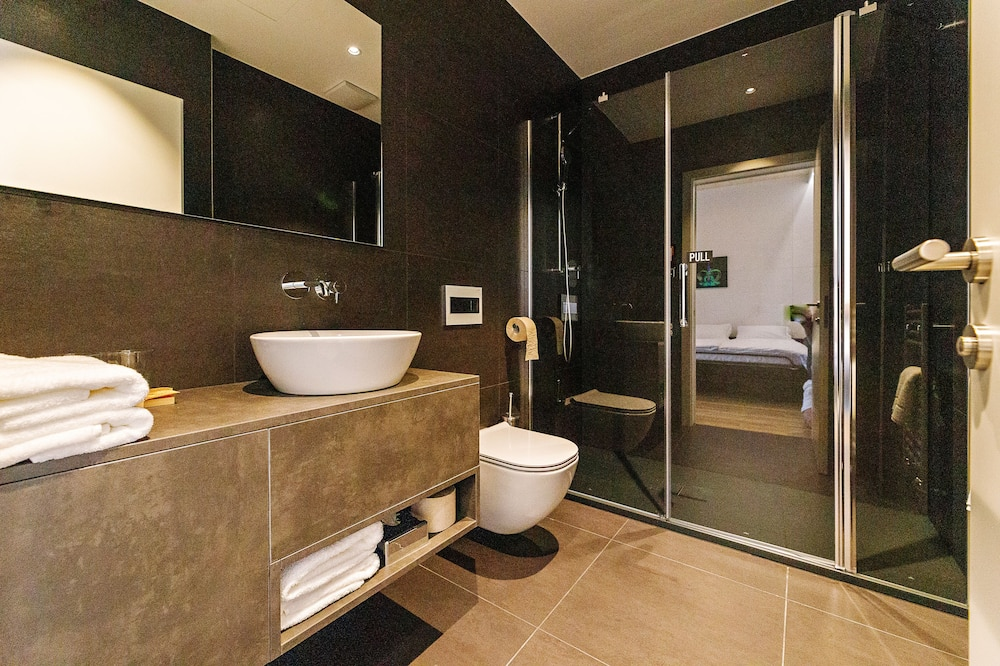 Apartmán, 1 spálňa, terasa, výhľad na park - Kúpeľňa