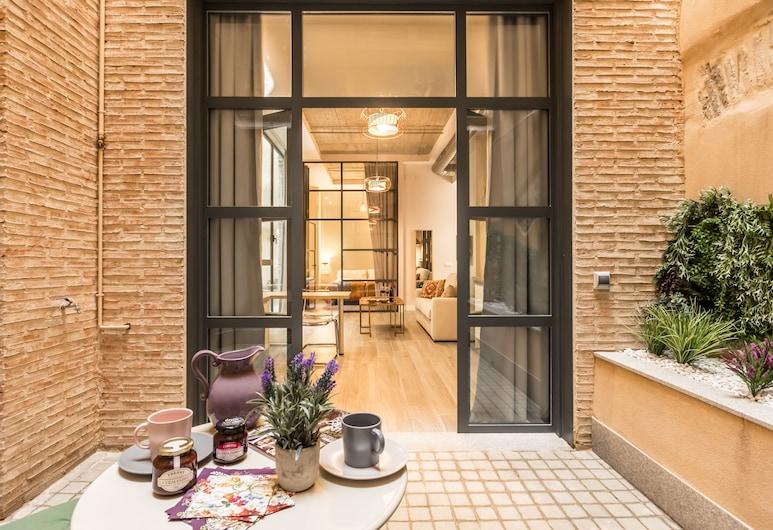Suites Herrería de la Maestranza, Seville, Dizajnový apartmán, 1 spálňa, bezbariérová izba, terasa, Terasa