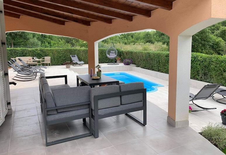 Villa Kristina, Funtana, Terrace/Patio