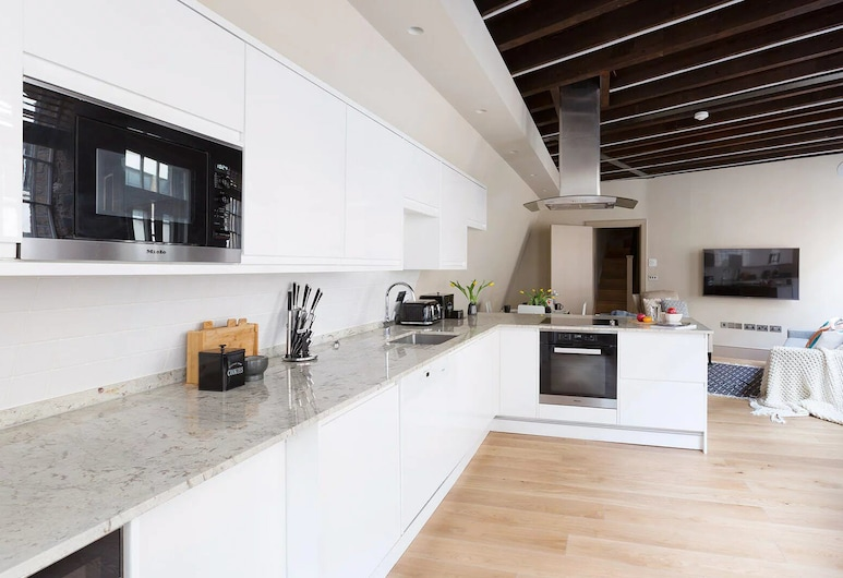 Wells Mews, London, Apartment, 2 Bedrooms (Wells Mews A), Private kitchen