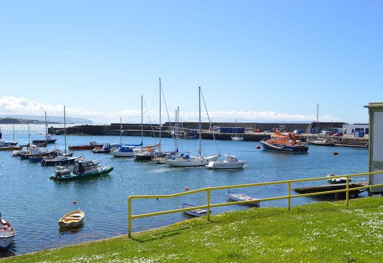 Pier39Portrush, Portrush, Blick vom Hotel