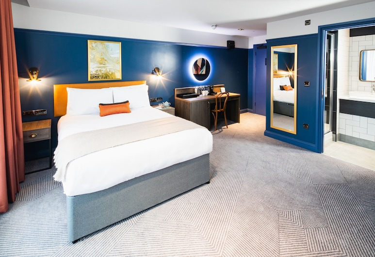 Epic Apart Hotel RopeWalks, Liverpool, 1 Bedroom Super- Luxe, Guest Room