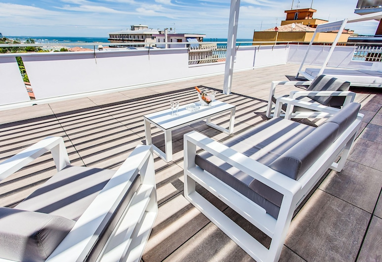 Evo Boutique Hotel & SPA, Bellaria-Igea Marina, Terrace/Patio