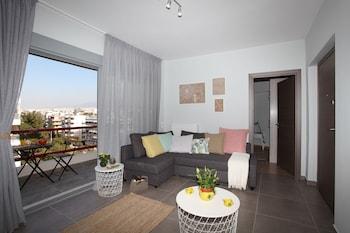 Fotografia do Edem Beach Apartment Mountain View  em Palaio Faliro