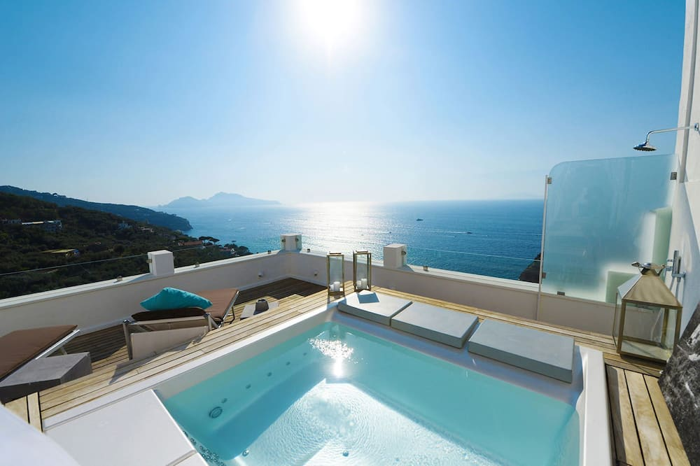 Cottage, Terrace, Sea View - Pool