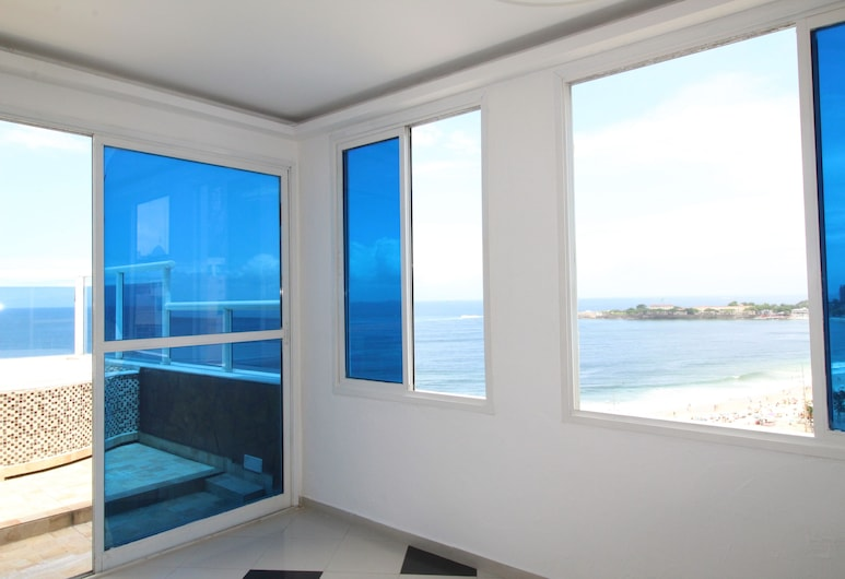 Penthouse with private pool - Copa - B8, Rio de Janeiro, Apartment, Multiple Beds, Room