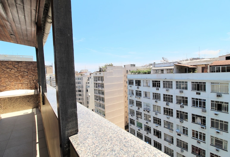 Penthouse with private pool Copa NS1137, Rio de Janeiro, Apartment, Multiple Beds, Terrace/Patio