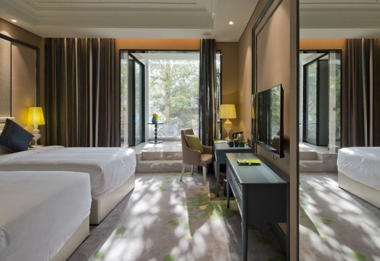 โรงแรมกรีนทรี อีสเทิร์น เซินเจิ้น ลวอหู่ อีสต์ เกท, เซินเจิ้น, ห้องดีลักซ์ทวิน, ไม่มีหน้าต่าง, ห้องพัก