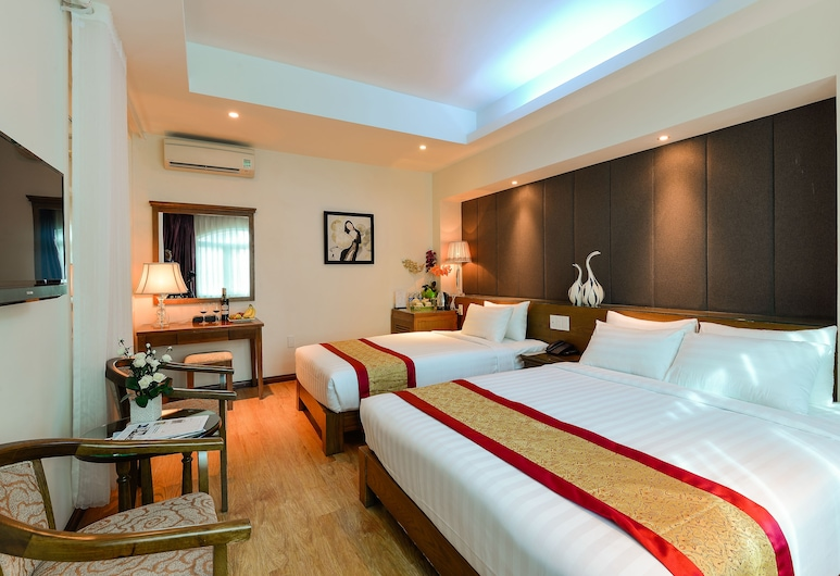 サイゴンシティ ホテル A, ホーチミン, デラックス トリプルルーム シティビュー, 部屋