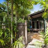 Villa, vue jardin - Extérieur