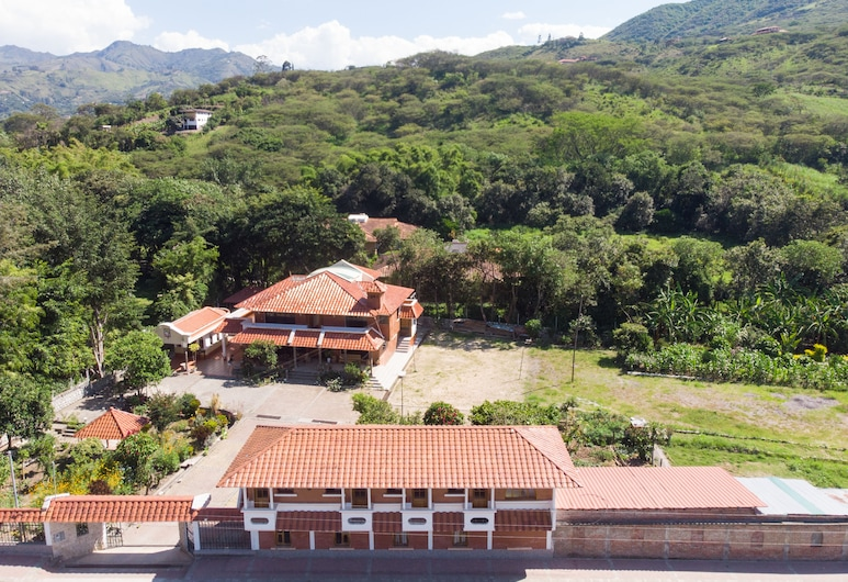 Garden House, Loja, Hotel Front