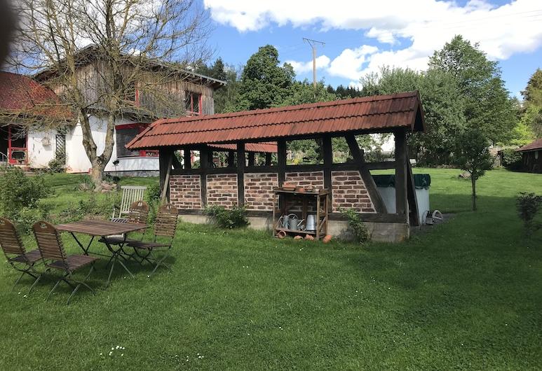 Pension Haus am Wald, Lichtenfels (Hesse), Jardín