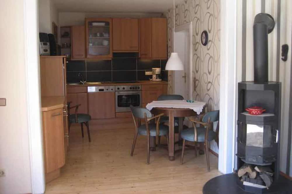 舒適公寓客房, 1 間臥室, 壁爐, 山谷景觀 (incl. end cleaning fee) - 客房餐飲服務