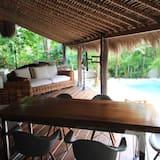 Tropical Bedrooms Villa with Private Pool - Zona de estar
