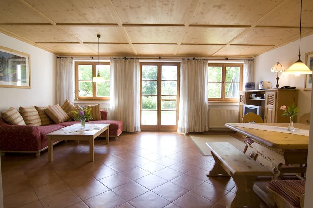 Apartment, Terrace, Garden View - Living Room