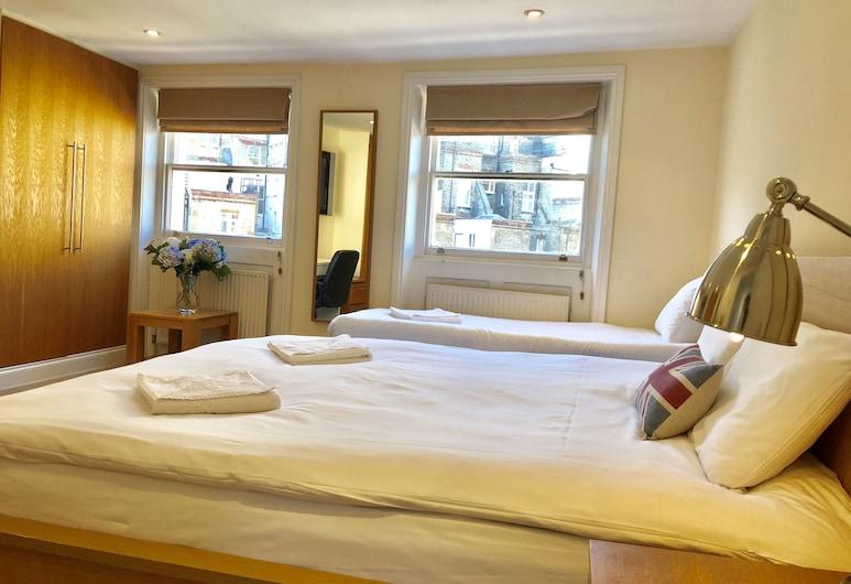 白金漢宮景觀公寓酒店, 倫敦, 舒適複式房屋, 2 間臥室, 城市景, 客房