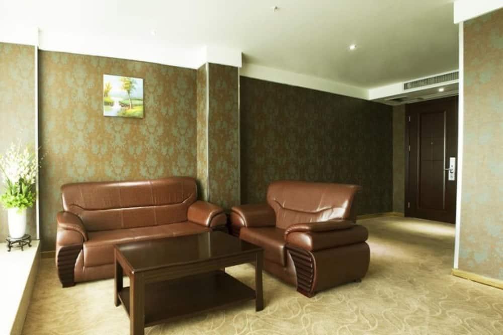 Habitación clásica con 2 camas individuales - Sala de estar