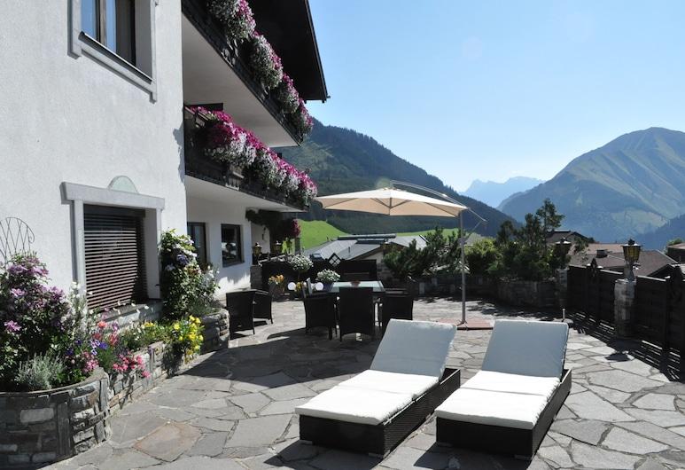 奧地利阿爾卑斯山公寓, 伯旺, 陽台