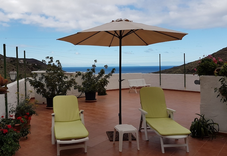 Atico con gran terraza Risco de Agaete, Agaete, Apartment, 1 Bedroom, Sea View, Terrace/Patio