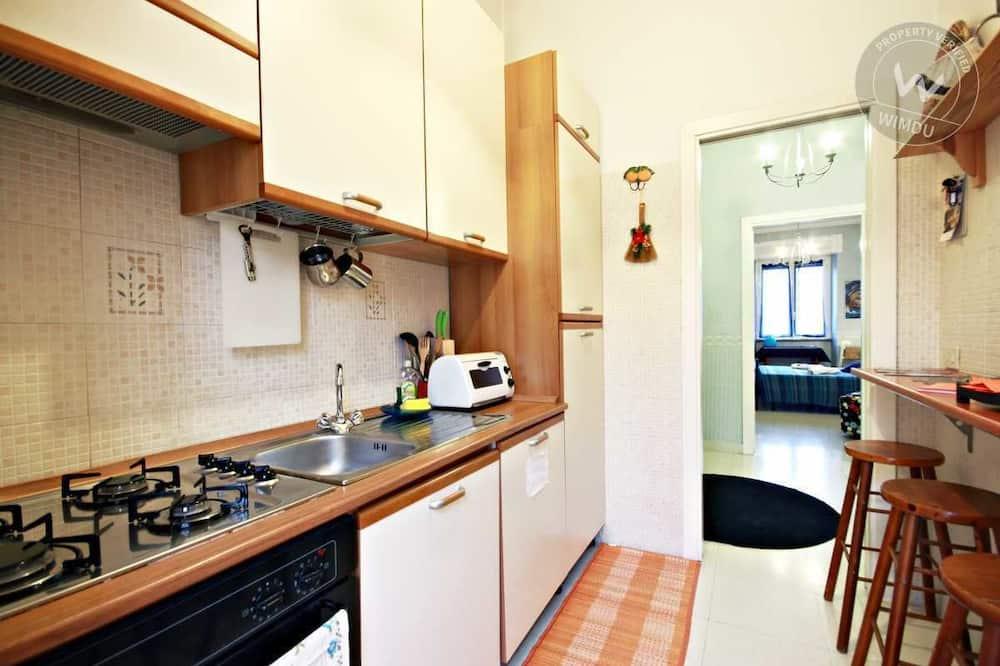 Dvojlôžková izba typu Comfort, súkromná kúpeľňa (External) - Spoločná kuchyňa