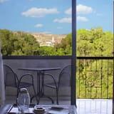 Trojlôžková izba, nefajčiarska izba, balkón - Výhľad z balkóna