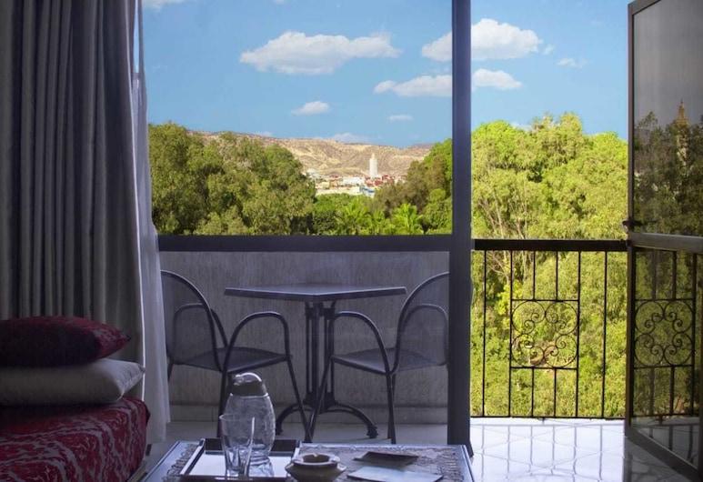 Apparts-Hôtel ISNI, Agadir, Leilighet, 1 dobbeltseng, Balkongutsikt