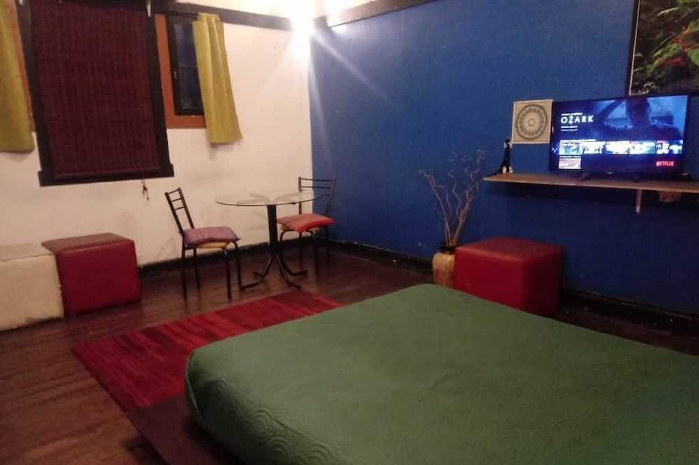 City-dobbeltværelse til 1 person - 1 queensize-seng - Værelse