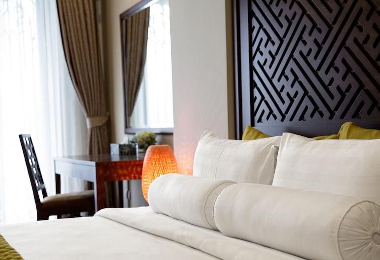 Hanoian Lakeside Hotel, Hanoi, Pokój dwuosobowy typu Premier, balkon, Pokój