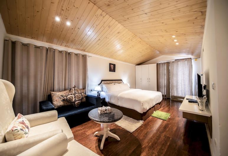 Holiday In HomeStay, Shimla, Perhehuone, 1 suuri parisänky, Tupakointi sallittu, Huone